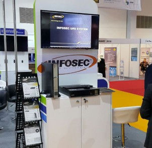 Infosec UPS System at Intersec 2017 (Dubaï)